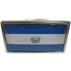 El Salvador Flag Fashion Ring